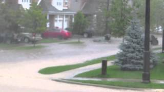 Flood of the decade - August 2, 2014 - Waterloo, ON