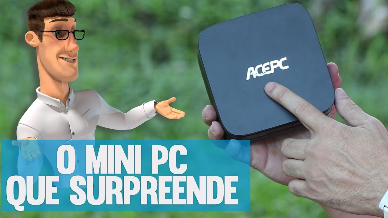 ACEPC - O MINI PC QUE SURPREENDE,  QUE RODA ATÉ THE SIMS 4