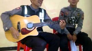 Polisi Bad English When I See You Smile Cover 2014 menjelang2015