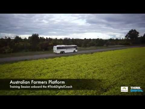 #ThinkDigitalCoach beams NFF Australian Farmers Platform into the Outback