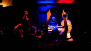 Aesop Rock and Kimya Dawson - NEW SONG - Aquarium live at High Noon Saloon 5-20-11