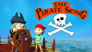 THE PIRATE SONG (When I was one) 3D Animation for children With Lyrics - HD #KidsSongs - DizzyMoonTV