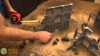 Space Marines vs Orks Warhammer 40k Battle Report - Kill Team Batrep Ep 01