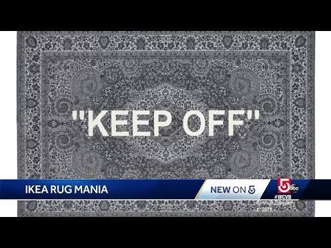People wait overnight at IKEA for a rug; 'This is a huge deal'