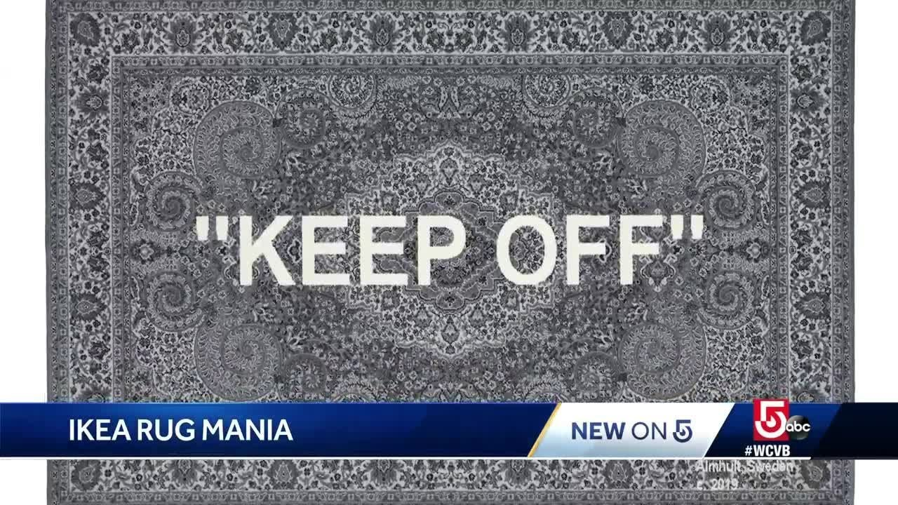 People Wait Overnight At Ikea For A Rug