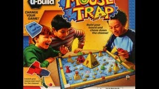 U-build Mouse Trap Game Board Toy Review