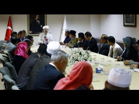 Diyanet İşleri Başkanı Görmez, Malezya heyetini kabul etti