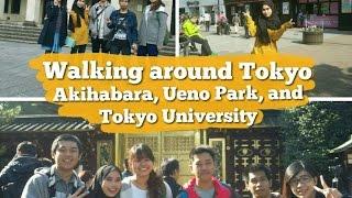 WALKING AROUND TOKYO || AKIHABARA, UENO PARK AND TOKYO UNIVERSITY