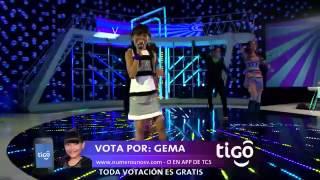 La chica ye ye - Gema Barahona - Número Uno El Salvador