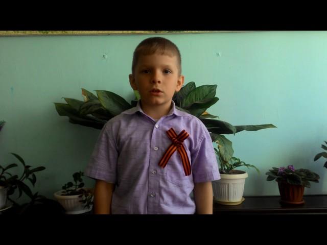 Изображение предпросмотра прочтения – ИгорьПодзолков читает произведение «Пусть дети не знают войны» Т.Е.Лавровой