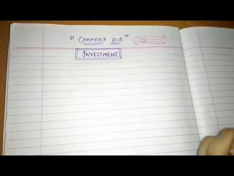 Investment and concept of Investment