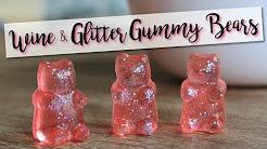 Wine & Glitter Gummy Bears! - Wine Gummy Bears