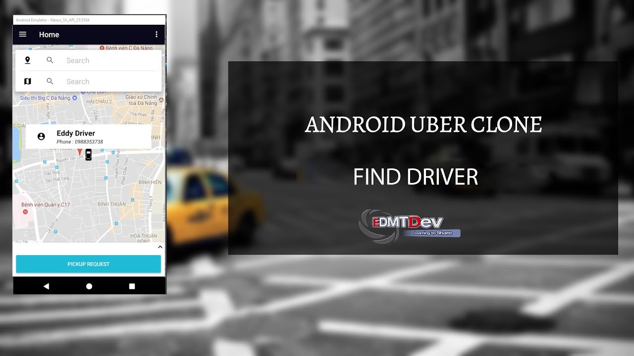 Android Uber Clone - Part 8 : Find Driver