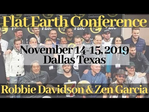 Flat Earth International Conference 2019 - Interview with Robbie Davidson thumbnail