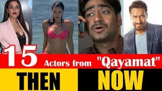 """15 Bollywood Actors from """"Qayamat: City Under Threat"""" 2003 