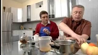Правильный завтрак Владимира Жириновского.