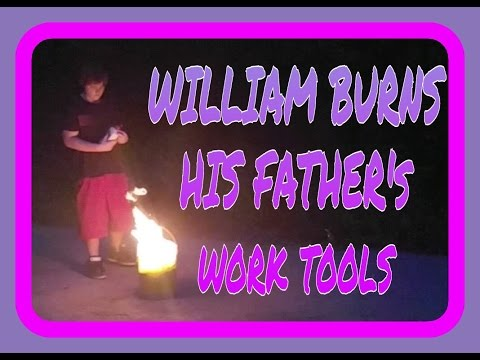 WILLIAM BURNS FATHERS WORK TOOLS!!!