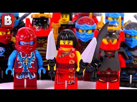 Every LEGO Nya Ninjago Minifigure Ever Made!!! | Collection Review