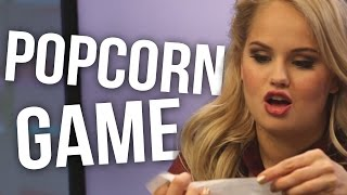 Debby Ryan Answers Popcorn Questions - Did She Ever Crush on Sprouse Twins?