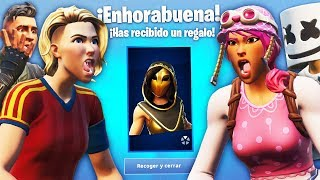 CHICAS GAMER THEY FIGHT for THE NEW SKIN OF ARENA TORMENT in FORTNITE!.. 🔥😱