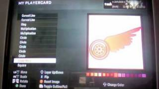 Black Ops Red Wing Logo Tutorial