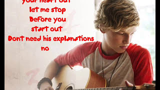Cody simpson - Dont cry your heart out - with lyrics