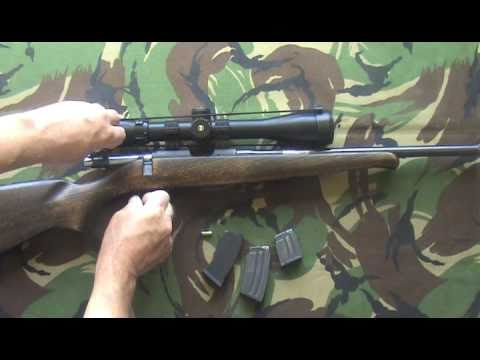 CZ 452 ZKM 2E  22 RIMFIRE RIFLE FOR TARGET SHOOTING VERMIN PEST CONTROL