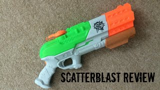 Nerf Zombie Strike Super Soaker SplatterBlast Unboxing, Overview & Firing Test