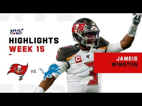 Jameis Winston's Huge Game w/ 458 Yds & 4 TDs! | NFL 2019 Highlights