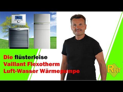 Die Leisen Flexotherm Wärmepumpen Von Vaillant