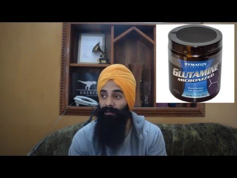 (Punjabi Video)GLUTAMINE SUPPLEMENT-Use Karein Ya na?