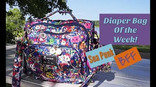 Download Video Diaper Bag of the Week: Ju-Ju-Be Sea Punk BFF | Packing for twins MP3 3GP MP4