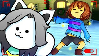 Frisk Becomes a YouTuber! Funny Cinematic Undertale AU Animation Roleplay