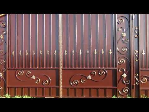 Стильные кованые ворота НОВИНКИ