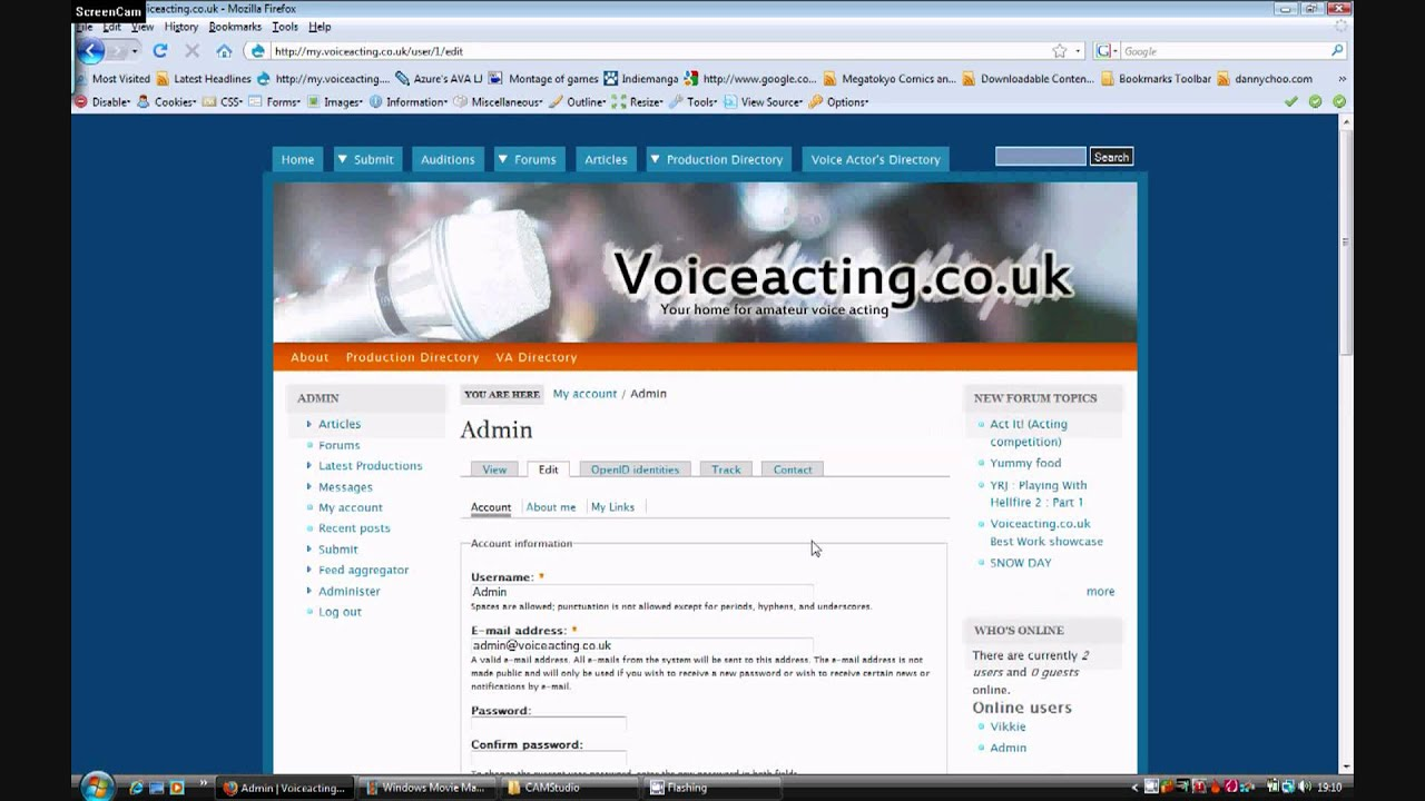 tutorial how to create a voice acting resume and find voice actors