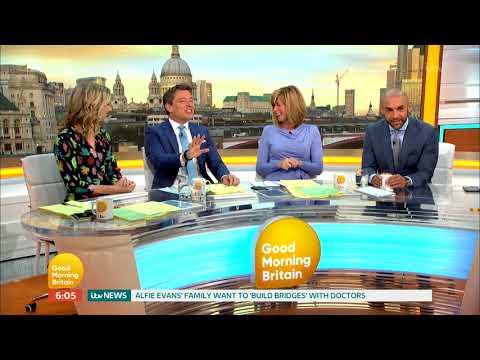 Ben Was A Naked Best Man At A Wedding! | Good Morning Britain