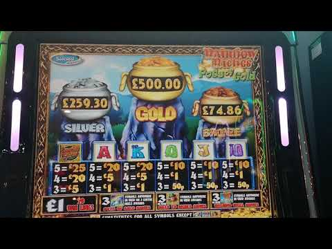 RAINBOW RICHES POTS OF GOLD £500 ROW PART 1 (Fruit Machines)