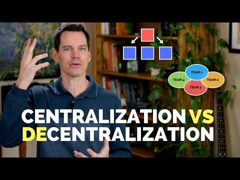 Centralization Vs Decentralization