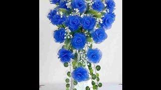 Прелестные цветы из капроновых колготок своими руками(Очень часто мы даем вторую жизнь старым вещам. Вот и старые колготки нашли свое применение. Из капроновых..., 2016-01-26T11:54:07.000Z)