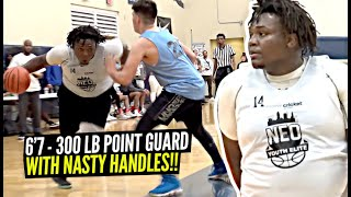 6'7 15 Year Old 270lb Point Guard Ty'Rion Denson aka Baby Escalade!! 👀👀🔥