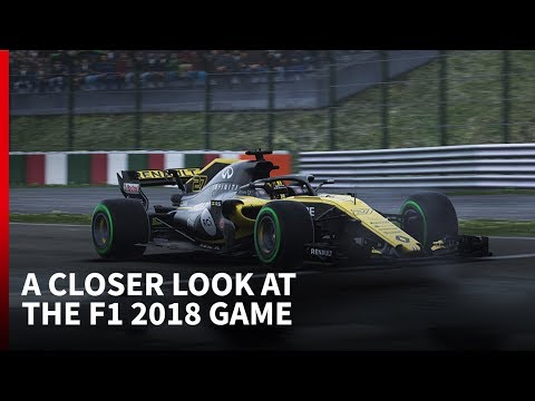 First Look at the F1 2018 game by Codemasters