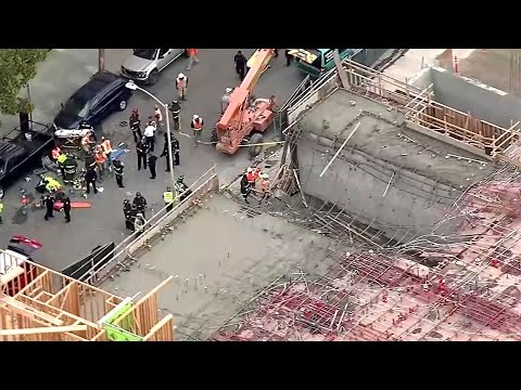 Workers Injured At Oakland Construction Site Collapse