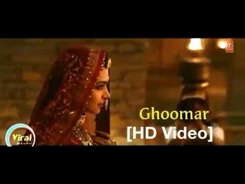 Padmavati   Ghoomar Video Song   Deepika Padukone   Shahid Kapoor   Shreya Ghoshal   Swaroop Khan