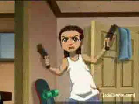 The Boondocks- BB Gun Fight