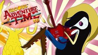 Przeszłość Marceliny   Wyzwanie   #028   Bloons Adventure Time TD   PL