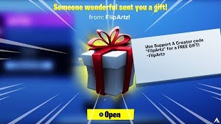 How To Get FREE GIFTS on Fortnite! (Fortnite How To Gift Skins)