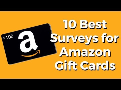 Take Surveys for Amazon Gift Cards (Top 10 Options)