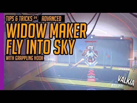 Quick Guide: How to sky shoot / grapple jump with Widowmaker ||  tips & tricks EP#4