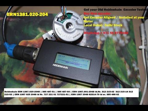 Heidenhain ~1,05 VSS ERN 1381.001-2048 | ERN1381.020-2048 IdNr. 385489-06 Id Nr. 385 489 56
