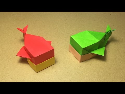 Origami Whale Tutorial / Instructions